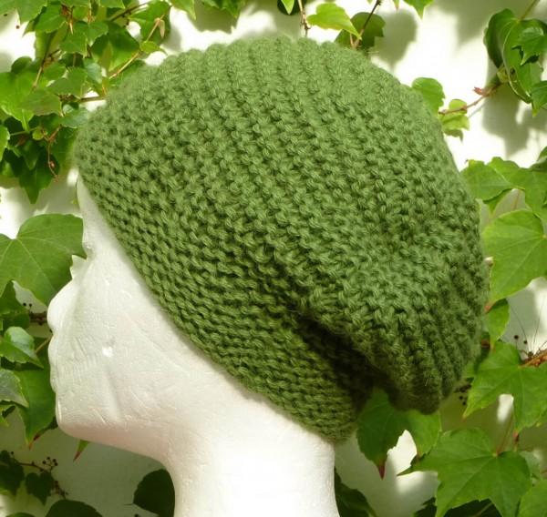 Alpaka Mütze lindgrün