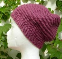 Wollmütze-Alpaka-Flieder-Violett